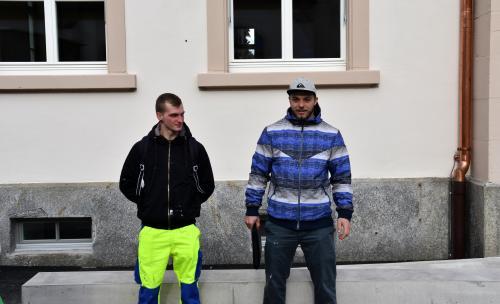 Christian, neuer STV Obmann, und Cyrill