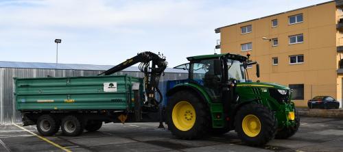 Traktorfahrer Matthias
