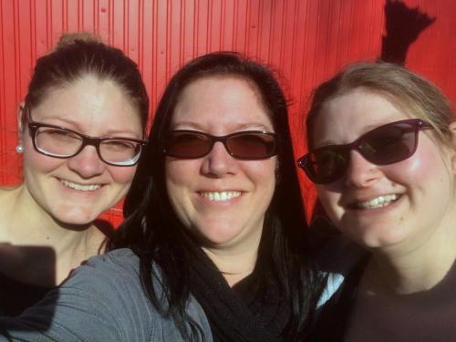 Sabrina, Carole und Tanja