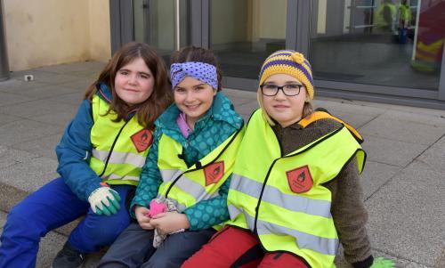 Tabea, Carina und Tarane