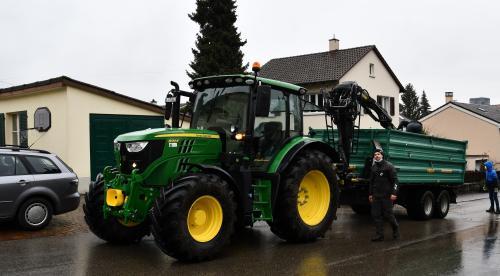 Matthias, heutiger Traktorfahrer