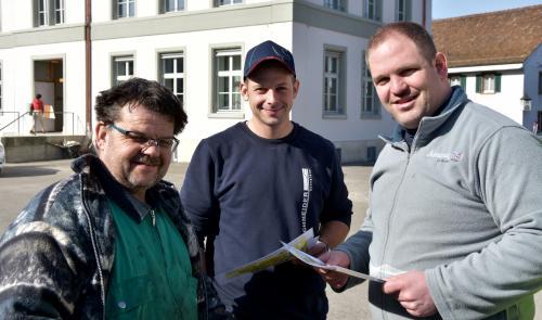 Hubi, Matthias und Alex