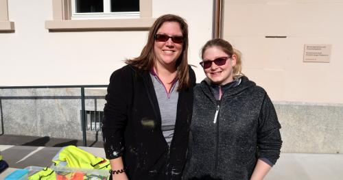 Carole und Tanja