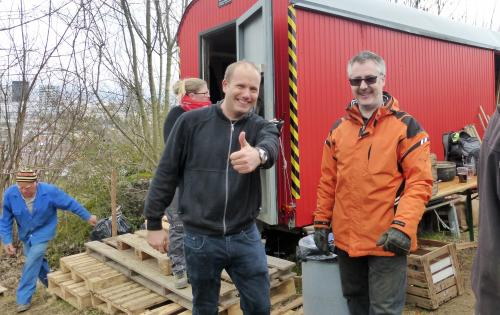 Matthias und Mike