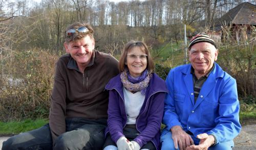 Gäspi, Anita und Heribert