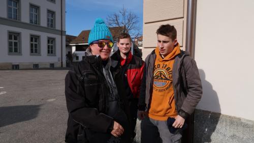 Jule, Yannick und Pat